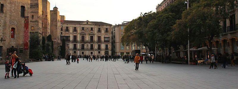 Plätze in Barcelona