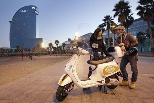 Das Mieten Vespa Barcelona