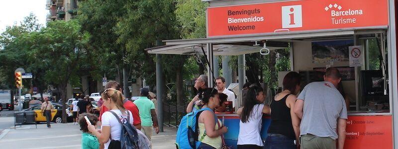 Touristenbüros und Touristeninformationspunkte in Barcelona