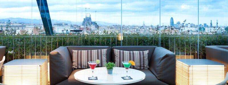 Terrasse 83.3 Hotel Royal Passeig Gràcia
