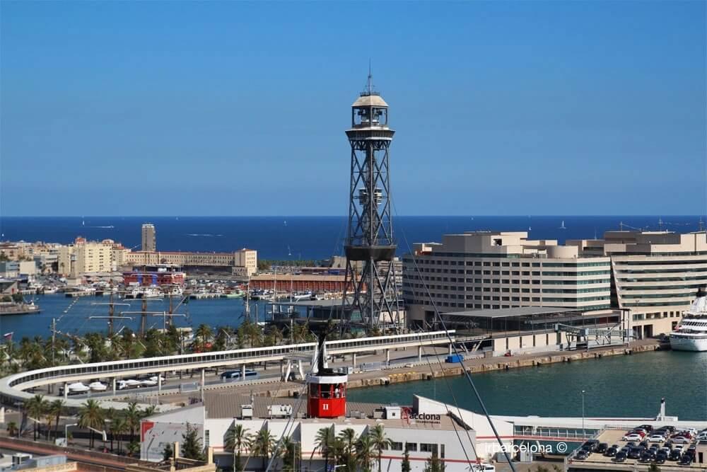 Hafenseilbahn Barcelona Aeri del Port
