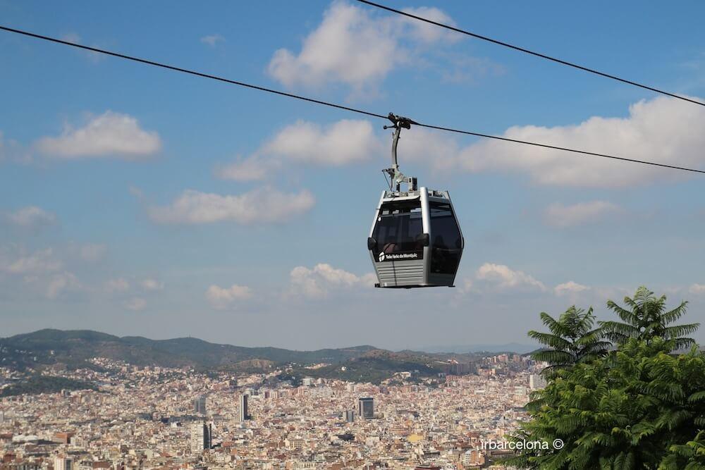 Ausblicke vom Telefèric Montjuïc