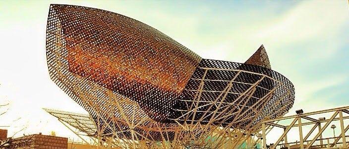Goldener Fisch Frank Gehry