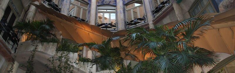 Innenhof Casa Milà