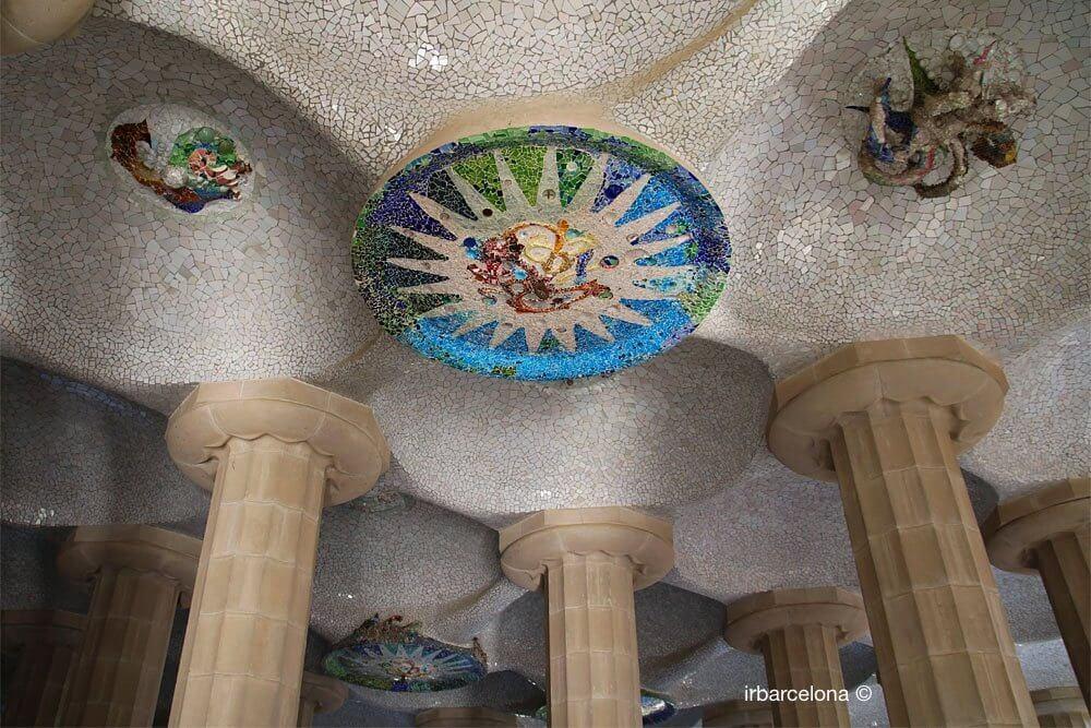 Rosette Saal der 100 Säulen