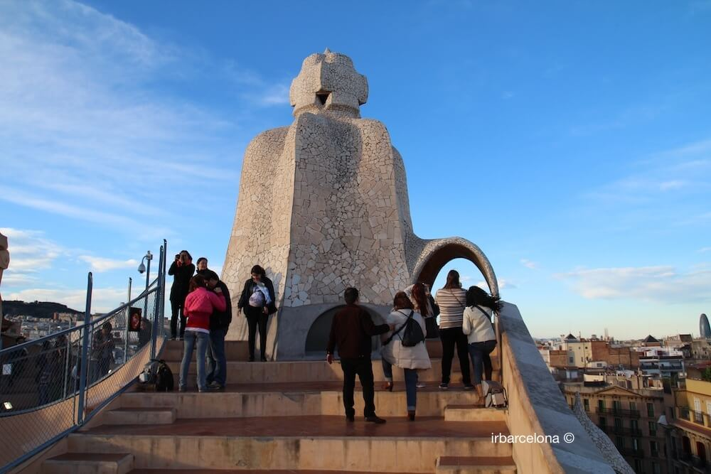 Besuch La Pedrera