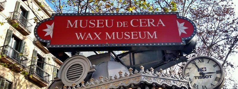 museo de cera Barcelona