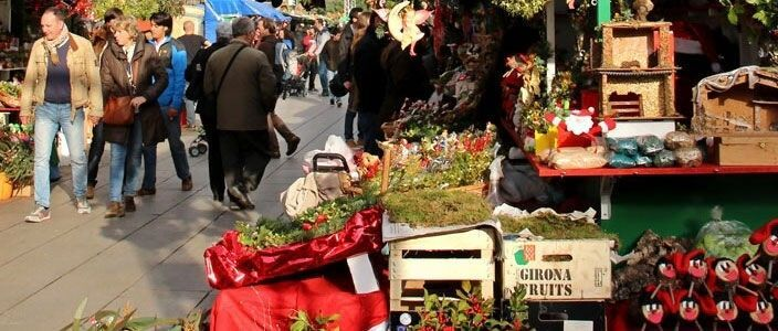 Fira de Santa Llúcia - Weihnachtsmarkt Barcelona