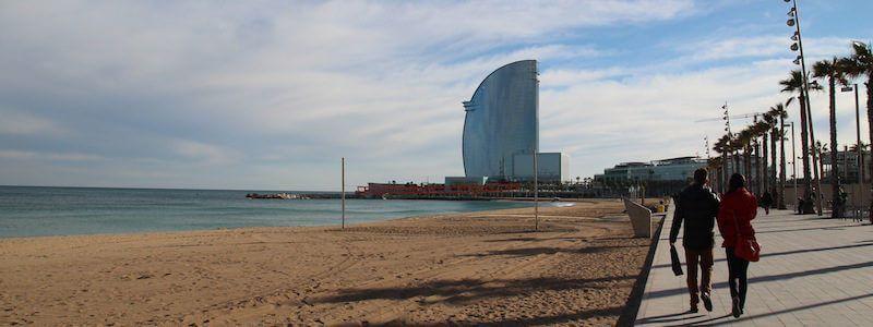 Strandpromenade Barcelona