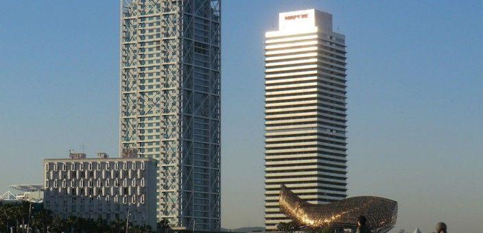 Torre Mapfre und Hotel Arts