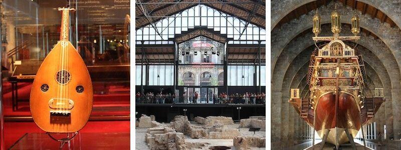 Museen Barcelona am Sonntag