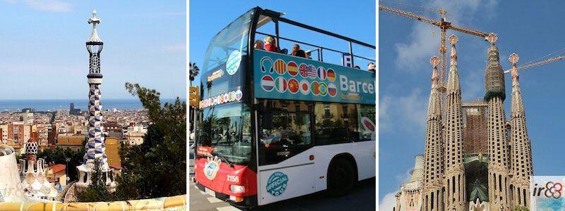 Touristische Aktivitäten Barcelona