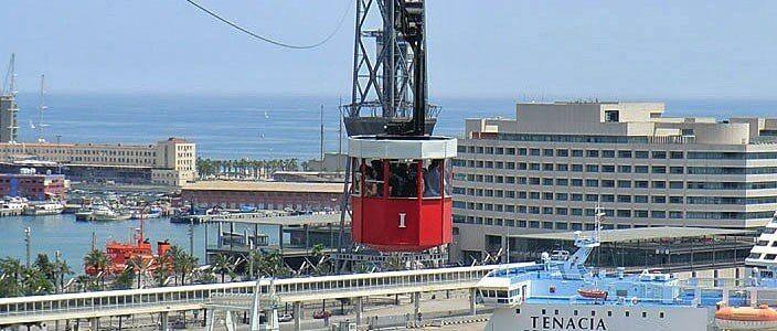 Hafenseilbahn Barcelona - Aeri del Port