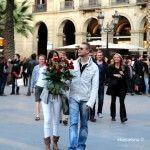 Paar Sant Jordi Barcelona