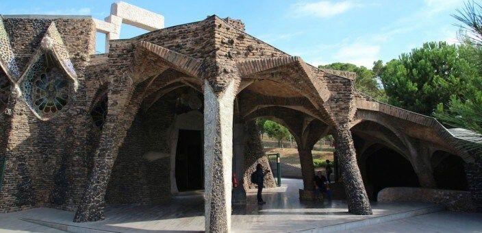 Colònia Güell und Krypta Gaudí