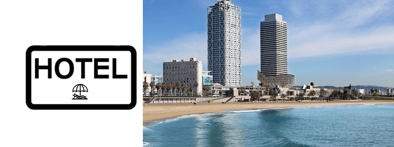 Hotels und Apartments Strand Barcelona