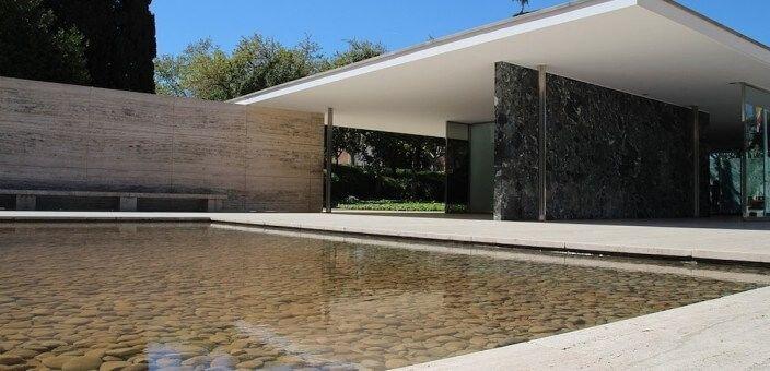 Barcelona-Pavillon Mies Van der Rohe