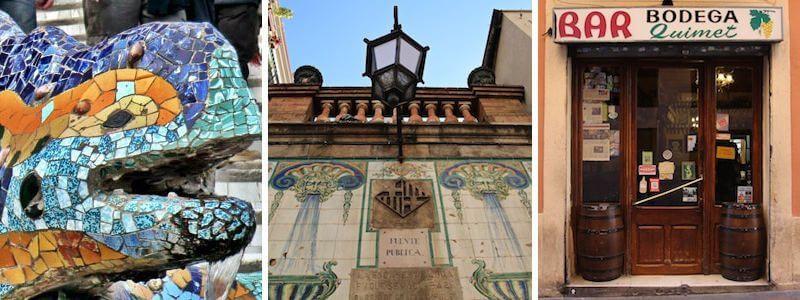 Viertel Gràcia Barcelona
