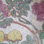 Pflaster Mosaik im römischen Stil