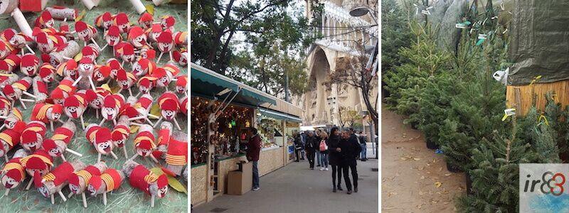 Weihnachtsmarkt der Sagrada Familia