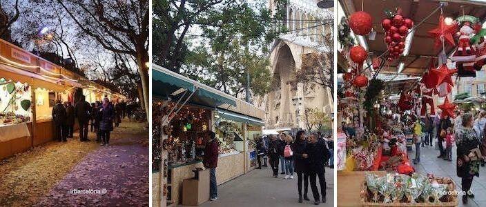 Grössere und kleinere Weihnachtsmärkte in Barcelona