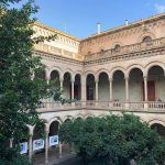 Historische Gebäude der Universität von Barcelona