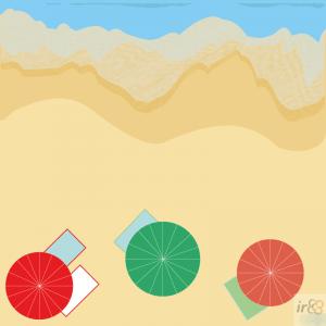 Der Strand von Barcelona