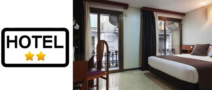 2-Sterne-Hotels in Barcelona