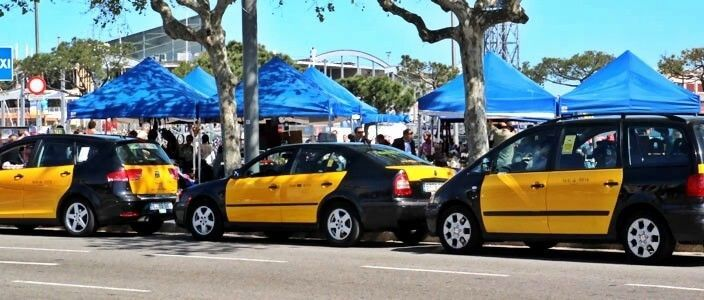 taxis Barcelona