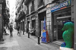 Trencadís und Mosaikwerkstatt für Kinder