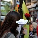 Mädchen mit Rose