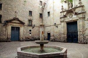 Brunnen Sant Felip Neri