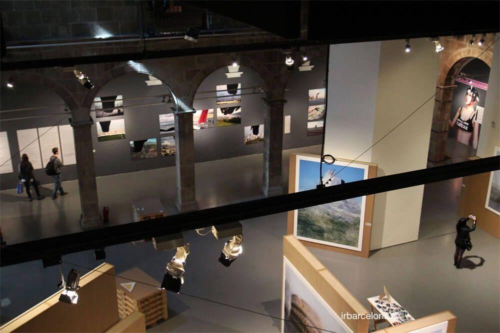 Belichtung Centre d'Arts Santa Mònica