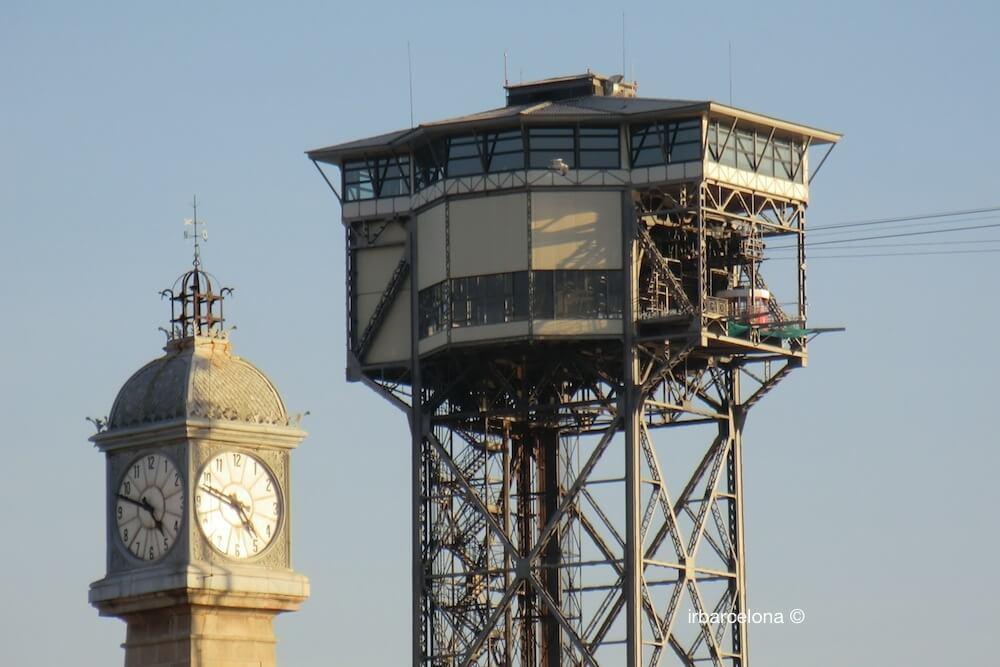 Uhrturm und Aeri del Port