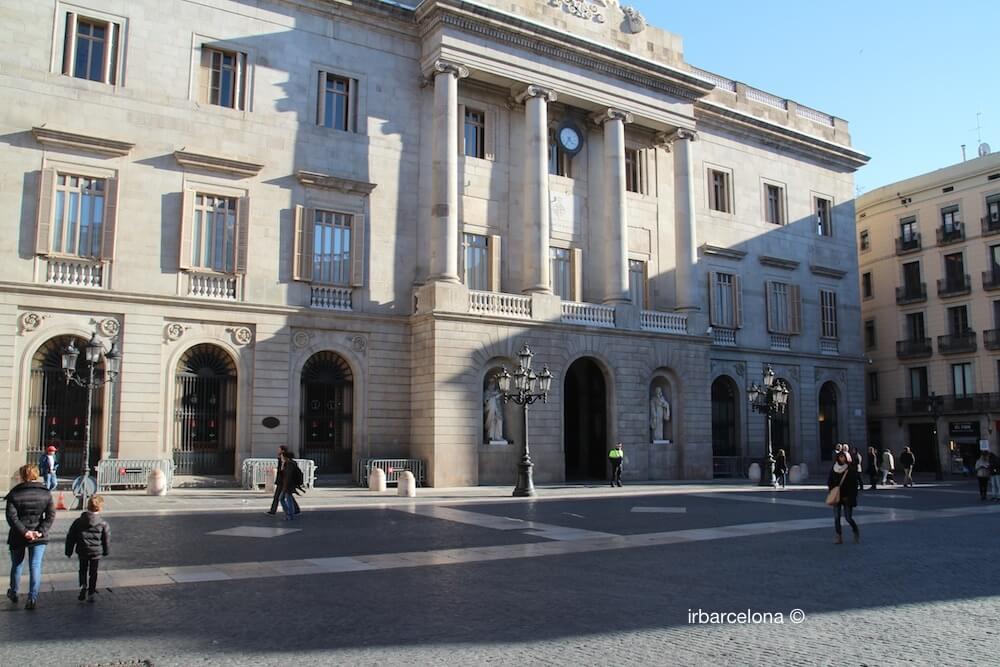 Rathaus von Barcelona