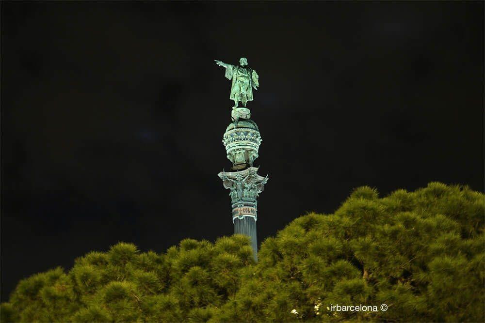 Christoph Kolumbus nachts