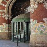 Eingänge Palau de la Música Catalana