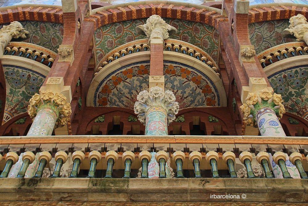 Fassade Palau de la Música Catalana