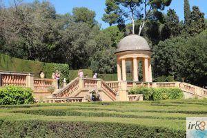 Park des Labyrinths in Barcelona