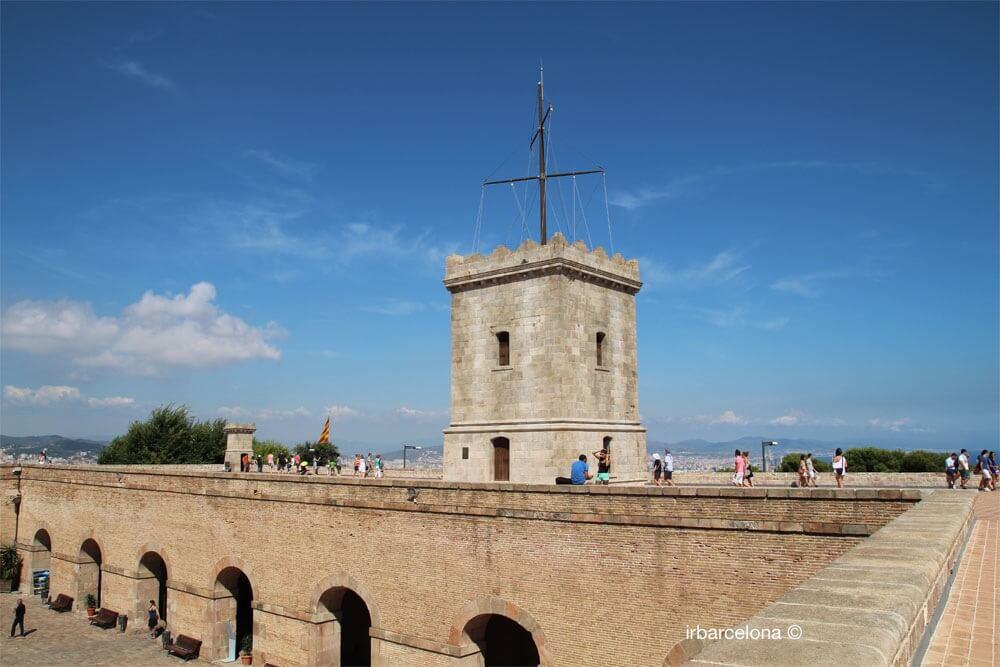 Aussichtspunkt Castell de Montjuïc