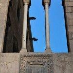 Fenster Palau Reial Major