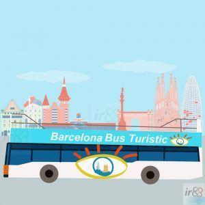 Barcelona Touristenbus