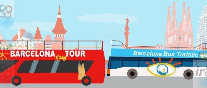 Touristenbus Barcelona