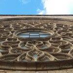 große Rosette Santa Maria del Mar
