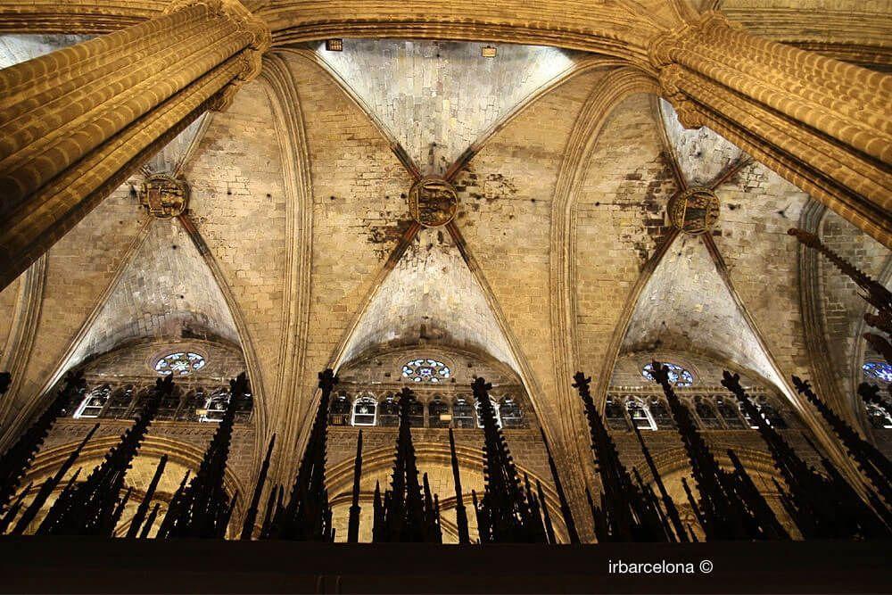 Decke Kathedrale Barcelona