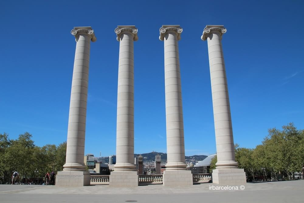 Quatre Columnes Josep Puig i Cadafalch