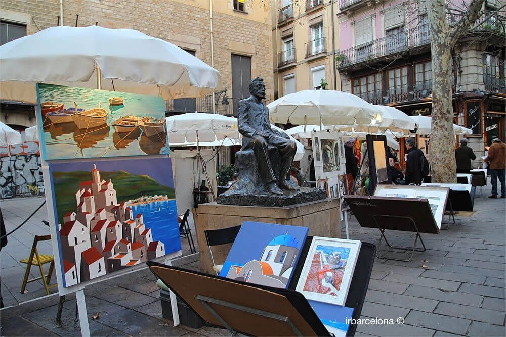 Kunst auf dem Platz