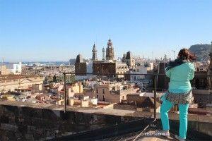 Santa María del Mar und Terrassen
