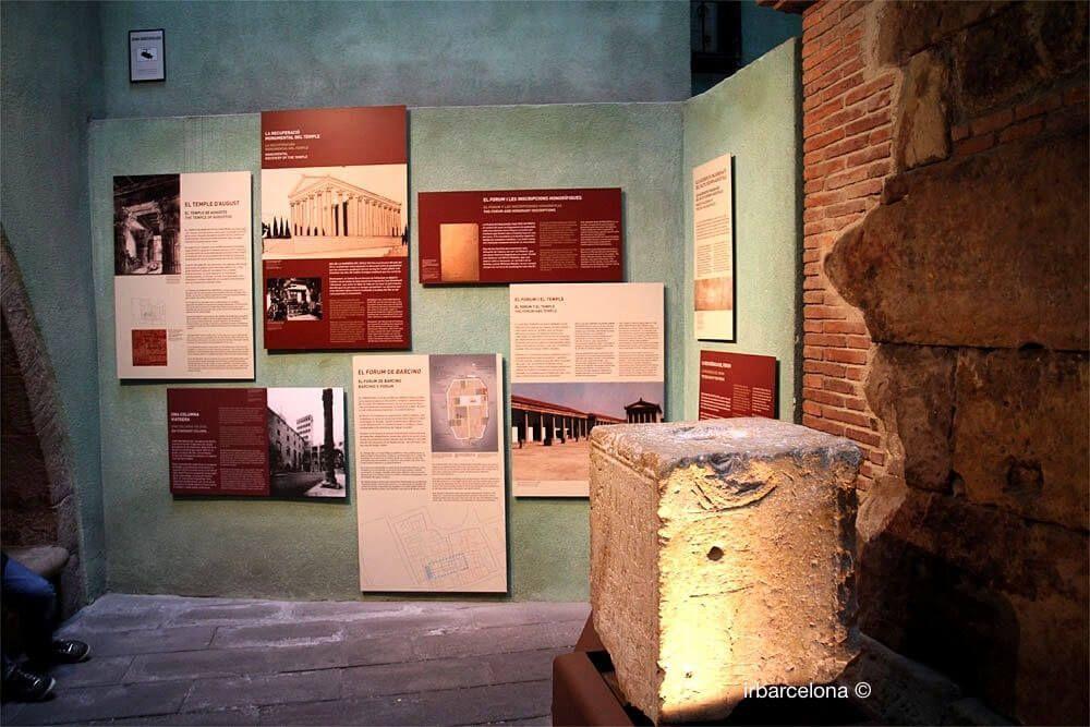 Erläuterung Geschichte Tempel Augustus