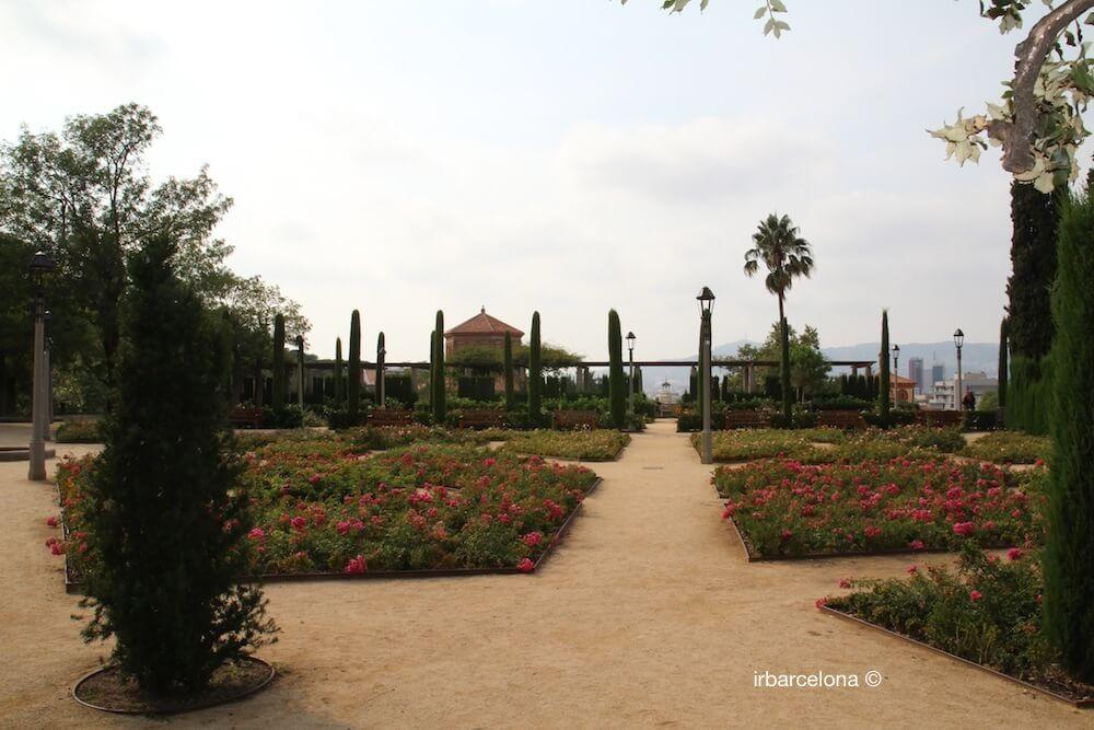 Blumen Jardins del Teatre Grec